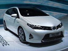 Auris Touring Sports at 2012 Paris Auto Show.